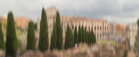 rom colosseum vertikal