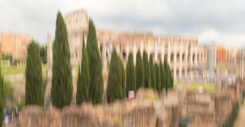 rome colosseum in peace