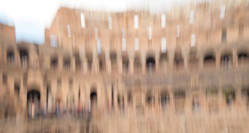 rome colosseum skyview