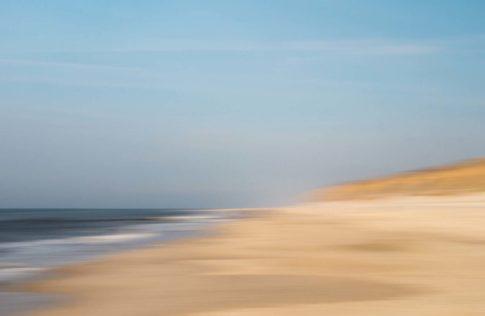 sylt april am strand