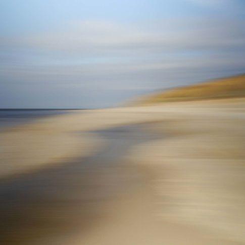 sylt strand mit kliff