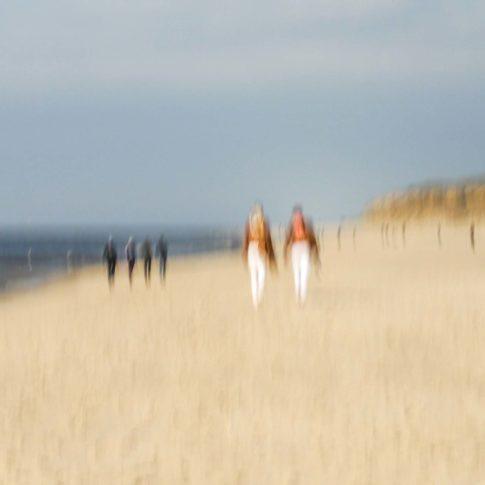 sylt zwei plus vier am strand