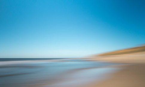 sylt am kliff mit strand