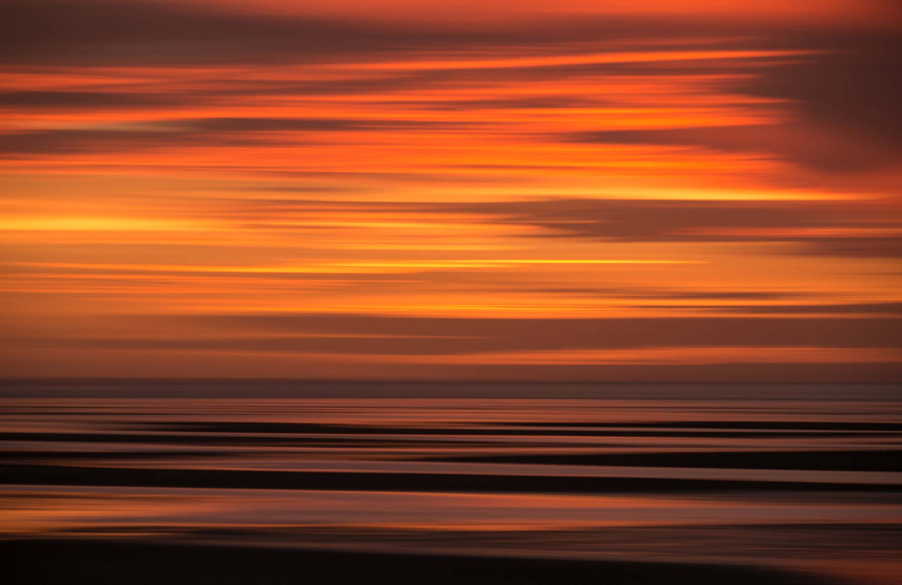 cape cod namskaket beach sundown