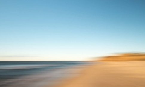 hamptons ditch plains beach calm