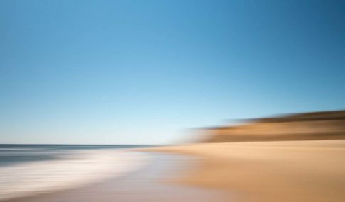 hamptons ditch plains beach mood