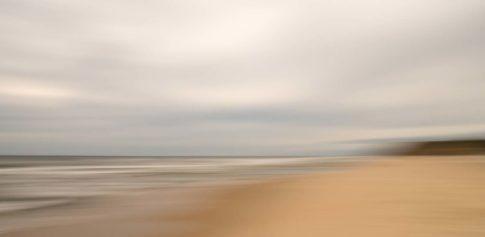 long island ditch plains beach clouds