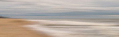 montauk beach blue hour