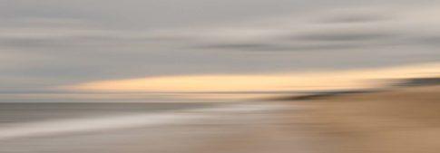 montauk beach sundown